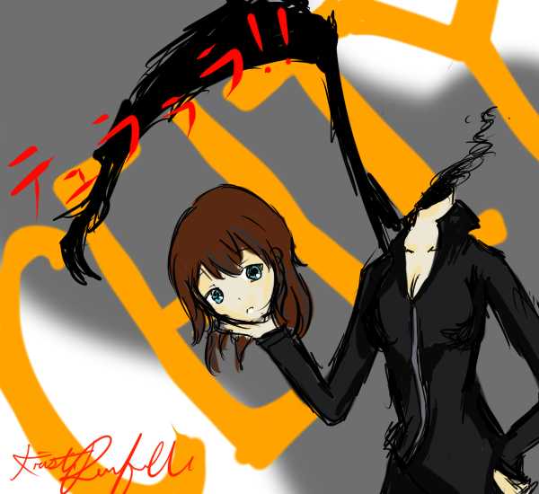 DuRaRaRa _ Celty by Kuriish on DeviantArt
