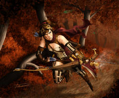 ArcheryDuel by thetetine