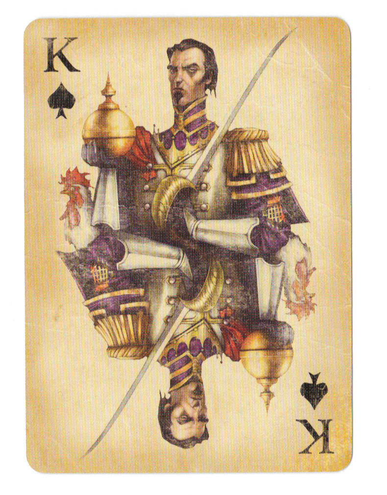 Fable Cards: King of Spades by Frostbite-Melody on DeviantArt