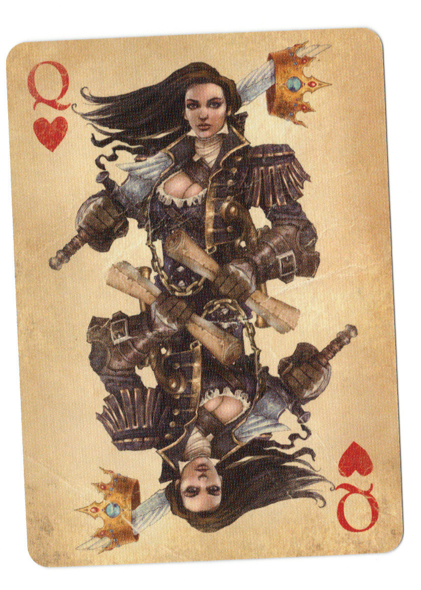 Fable Cards: Queen of Hearts by Frostbite-Melody
