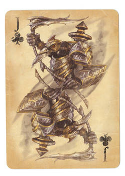 Fable Cards: Jack of Clubs