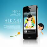 Hikari iPhone Wallpaper