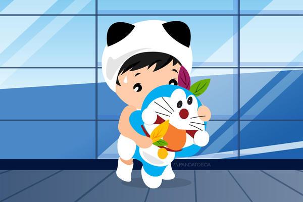 meet Doraemon by mrbumbz