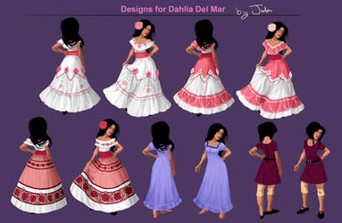 Would-Be Princess Dahlia Del Mar by MusicalNumber