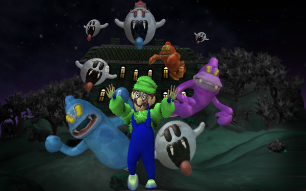 Spores Luigis Mansion By