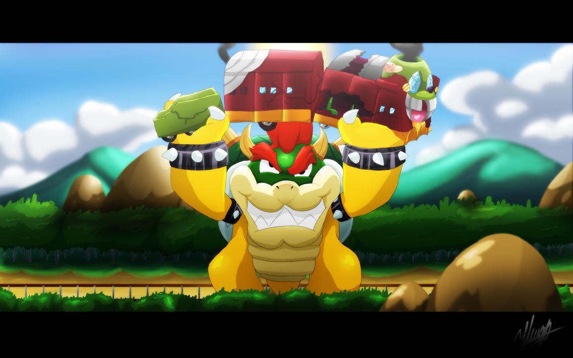 Bowser's Express Fight by Hugo-H2P