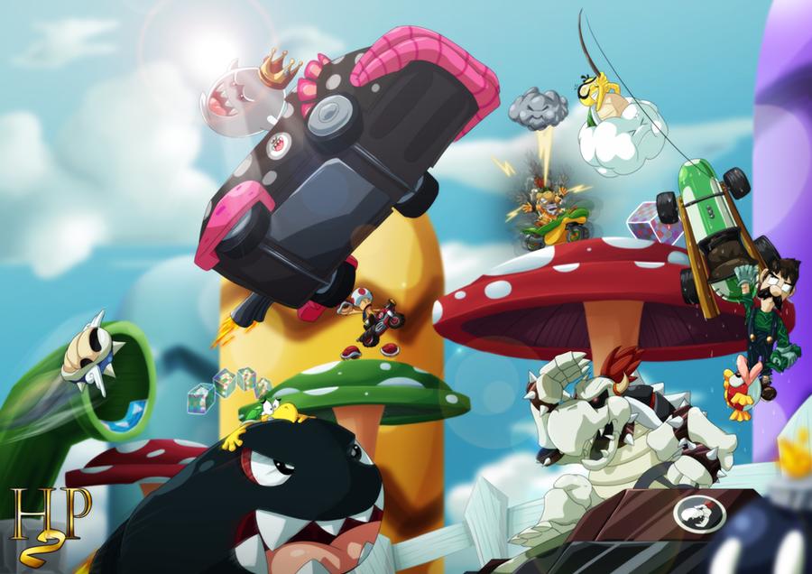 Mario Kart Wii by Hugo-H2P