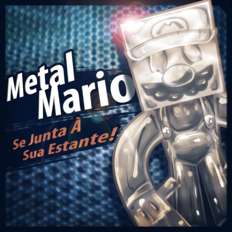 Metal Mario Papercraft
