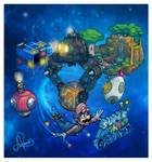 Isometric Nostalgia: Super Mario Galaxy