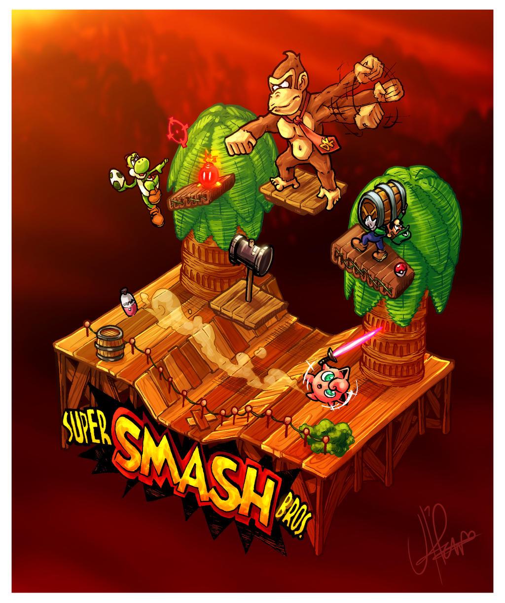 Isometric Nostalgia: Super Smash Bros. 64