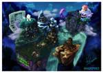 Isometric Nostalgia: Luigi's Mansion Dark Moon by Hugo-H2P
