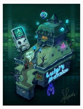 Isometric Nostalgia: Luigi's Mansion