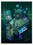 Isometric Nostalgia: Luigi's Mansion by Hugo-H2P
