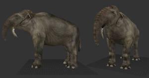 Carnivores Ice Age - Deinotherium Mesh
