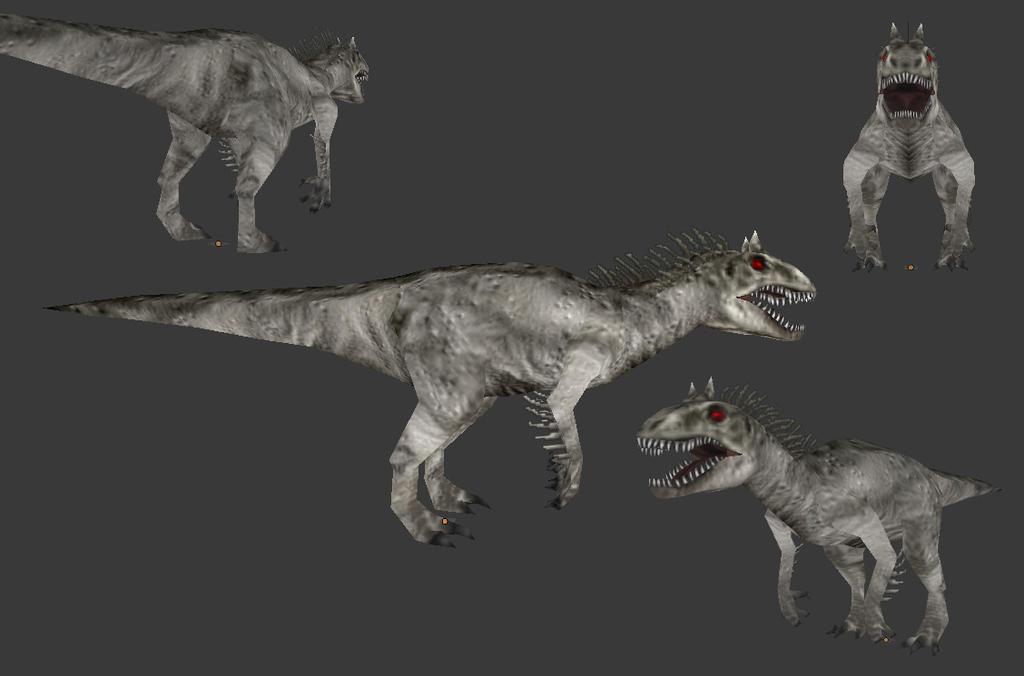 Carnivores 2 Indominus Rex Mesh By Poharex On Deviantart