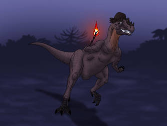 Comic Fury Dinos - Ash (Defenestration) by Poharex
