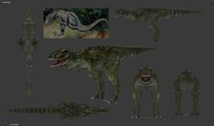 Carnivores 2 - Laelaps Mesh