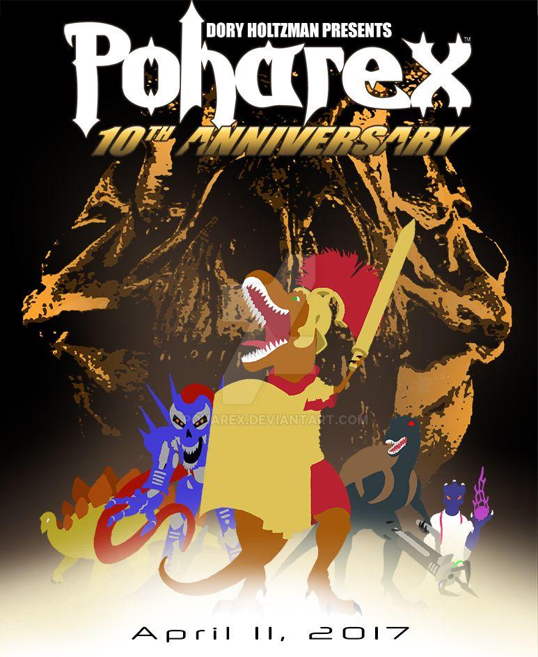 Happy 10th Birthday, Poharex! by Poharex