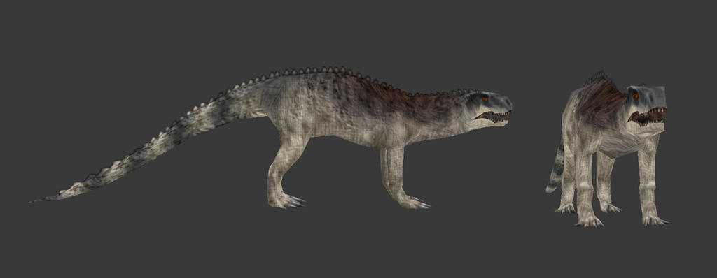 Carnivores Triassic - Chirotherium by Poharex
