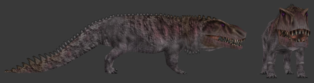 Carnivores Triassic - Prestosuchus by Poharex
