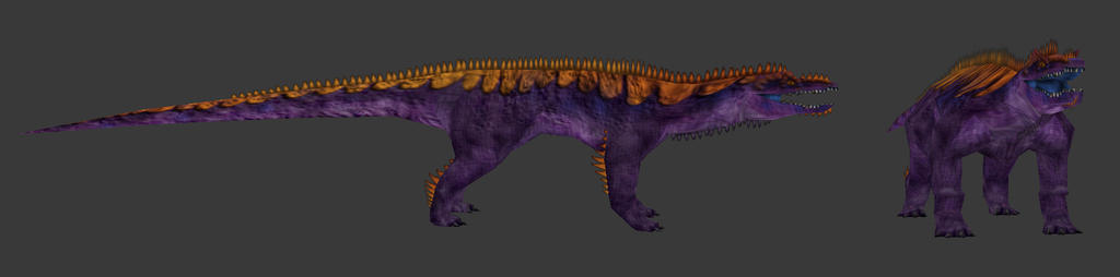 Carnivores Triassic - Serizasuchus by Poharex
