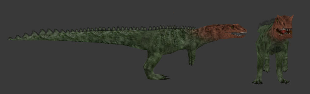 Carnivores Triassic - Teratosaurus by Poharex