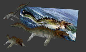 Carnivores+ Mosasaurus by Poharex