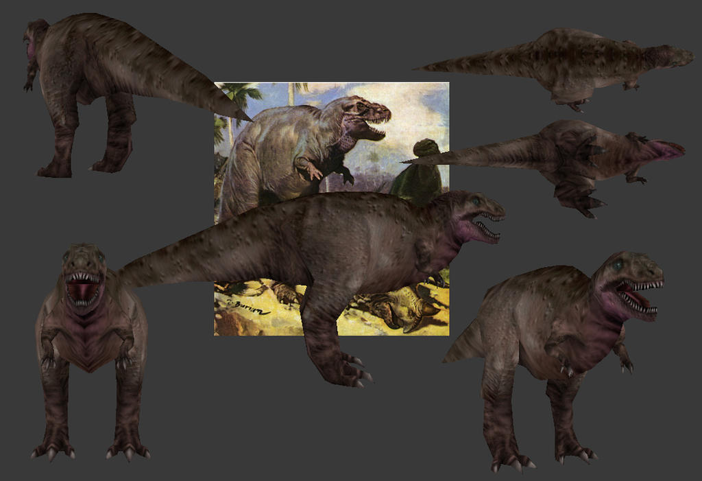 Carnivores+ Iniquutyrannus by Poharex