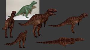 Carnivores Triassic - Megalosaurus (2018) by Poharex