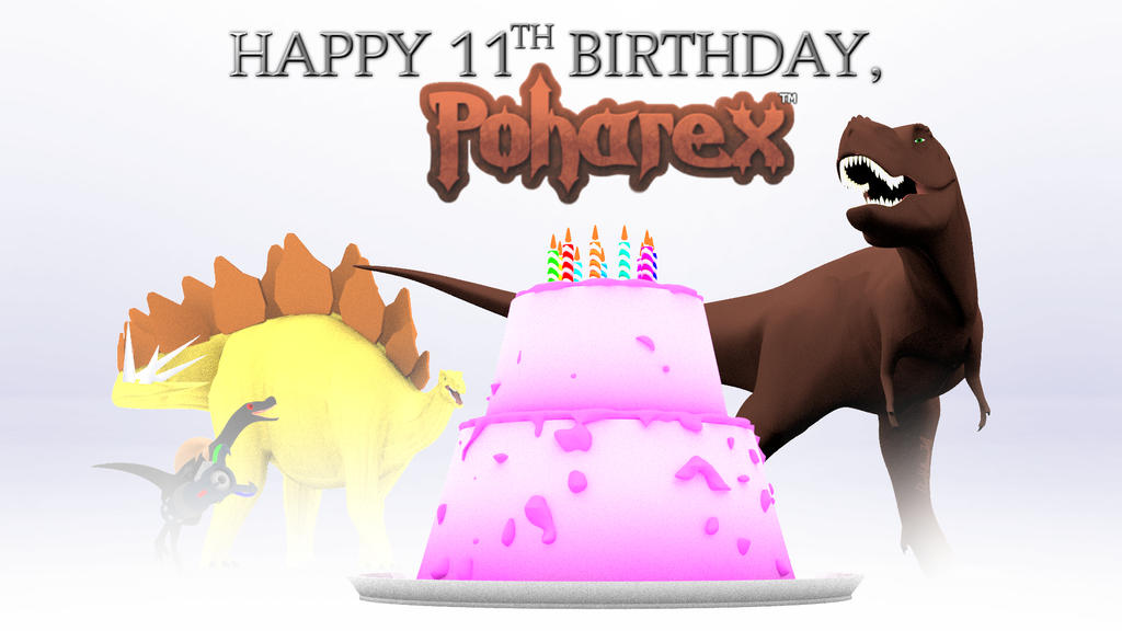 Happy 11th Birthday, Poharex! by Poharex