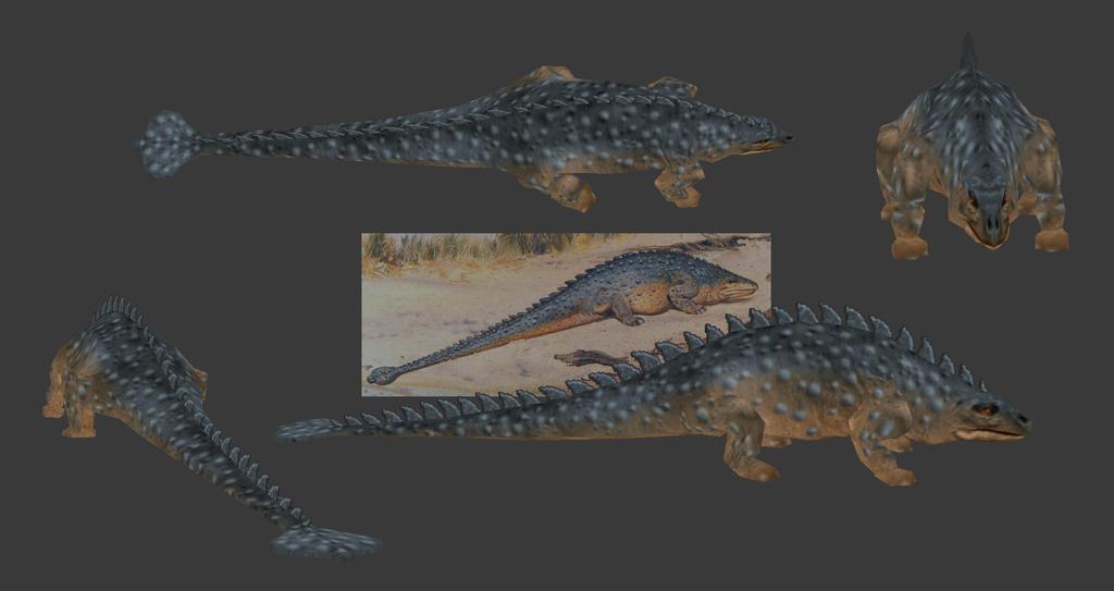Carnivores+ Pinacosaurus by Poharex