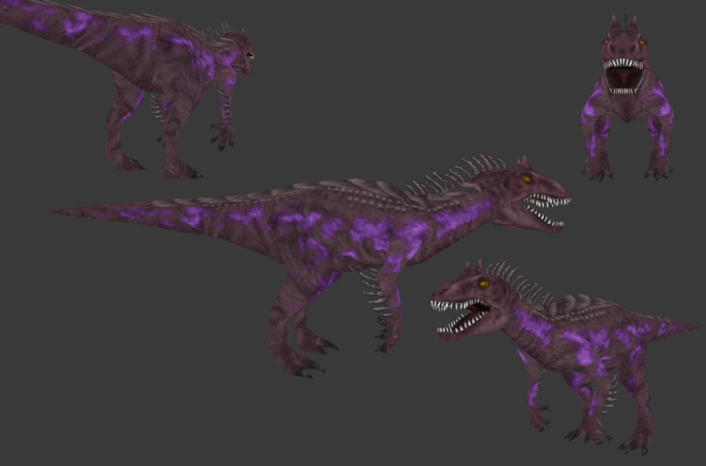 Carnivores 2 - JWE Vivid Indominus Skin by Poharex