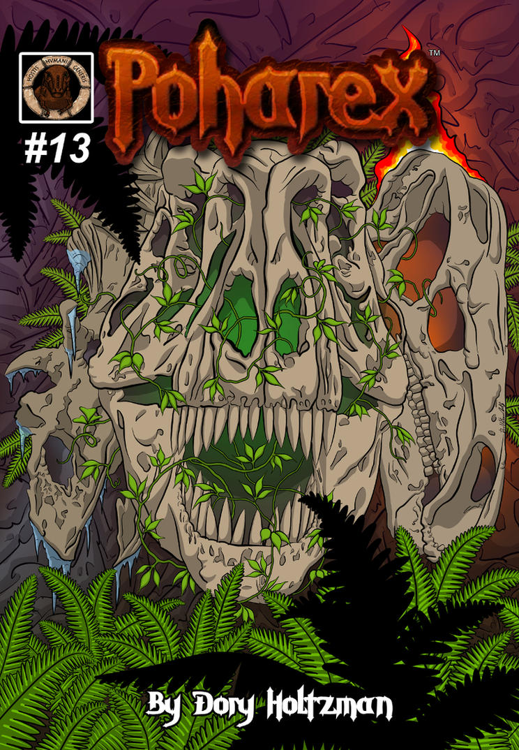 Poharex Issue 13 Cover by Poharex