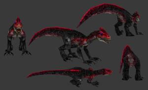 Carnivores: New World - Cruentomarinyx by Poharex