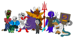 The Dysfunctional Family (Undertale Edition) by Poharex