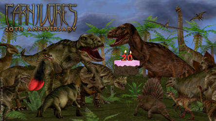 Happy 20th Anniversary, Carnivores! by Poharex