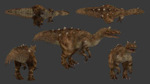 Carnivores+ Stokesosaurus by Poharex