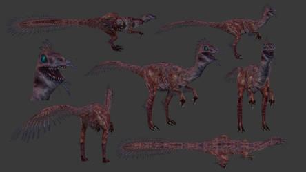 Carnivores+ Coelurus by Poharex