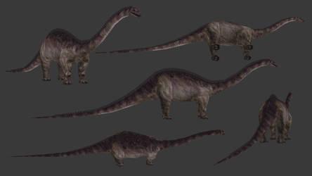 Carnivores+ Diplodocus (2019) by Poharex