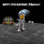 Happy 12th Birthday, Poharex! by Poharex