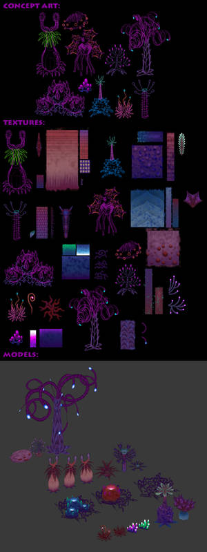 Mandibles - Amethyst Dusklands Flora