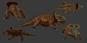 Fallen Kings - Protoceratops
