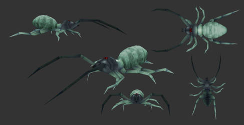 Mandibles - Prototype Protosolpuga Skin