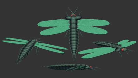 Mandibles - Prototype Stenodyctia Skin