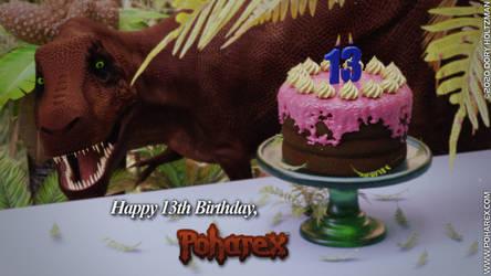 Happy 13th Birthday, Poharex!