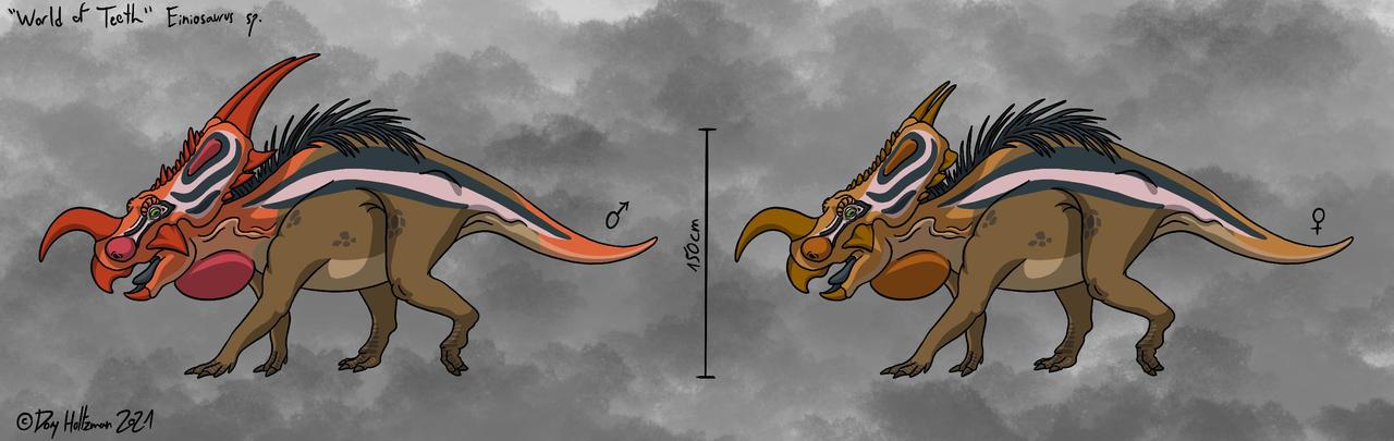 World of Teeth - Einiosaurus