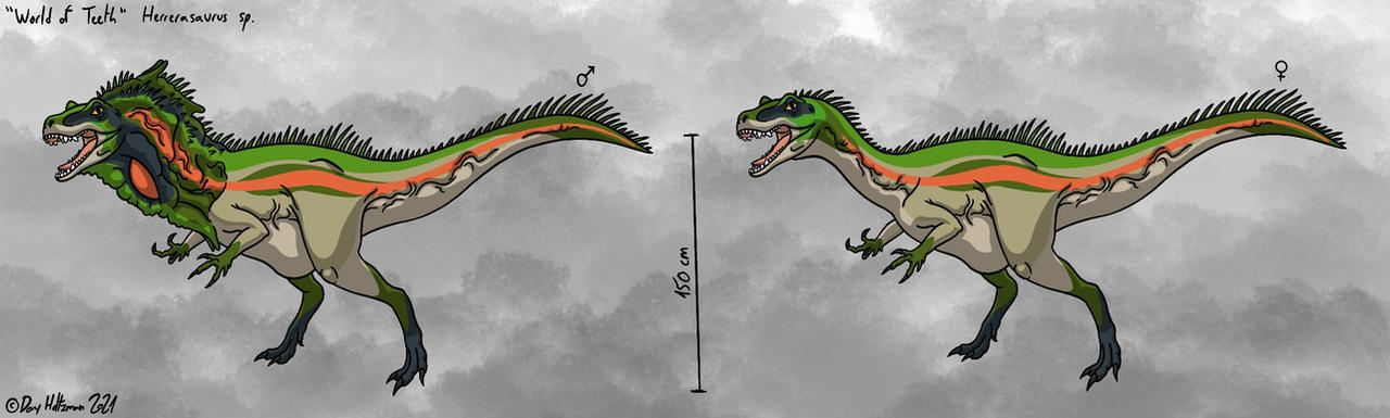 World of Teeth - Herrerasaurus
