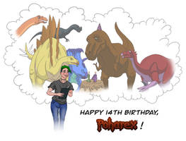 Happy 14th Birthday, Poharex!