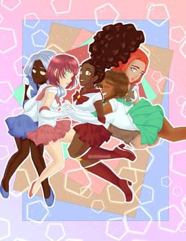 Laluna Squad x Sailor Moon [ORIGINAL]