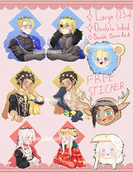 Fire Emblem Three Houses Flower crown charms